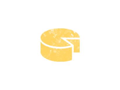 Ícone queijo na feira