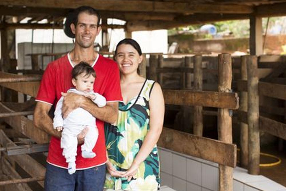 Vivaldo e família