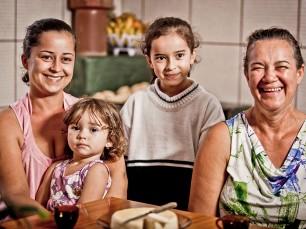 André e família