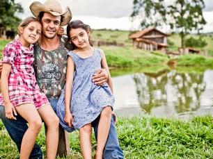 Geraldo e filhos