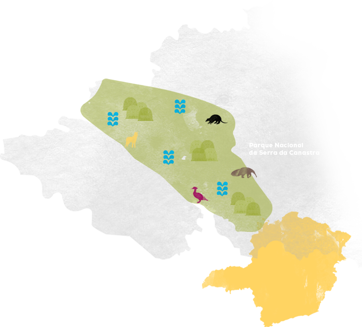 Mapa da serra
